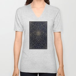 Spider Silk Stars Book Unisex V-Neck