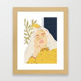 Storms Framed Art Print