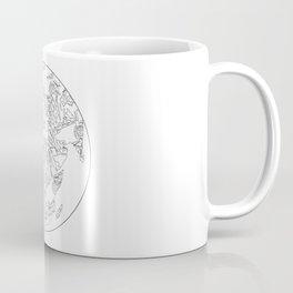 Blacksmith tools Globe- Brent Bailey Forge Coffee Mug