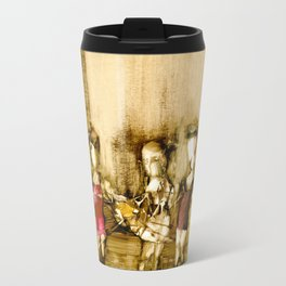 Abstract Figurative art Travel Mug