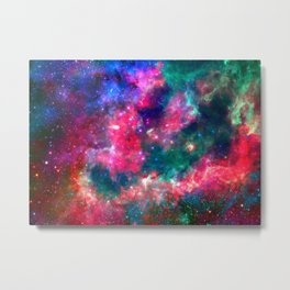 Cotton comic Metal Print