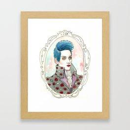 Brian Slade [Velvet Goldmine] Framed Art Print