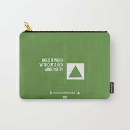 Perfect Logo Series (2 of 11) - Green Carry-All Pouch