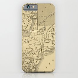 A.C. Thomas - A History of the United States (1900) - North East Coast, Maryland to Maine, 1776 iPhone Case