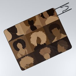 FOR BROWN GIRLS COLLECTION COLLAGE Picnic Blanket