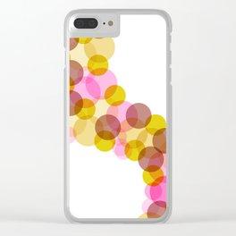 Bubbles 04 Clear iPhone Case