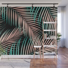 Palm Leaves - Cali Vibes #2 #tropical #decor #art #society6 Wall Mural