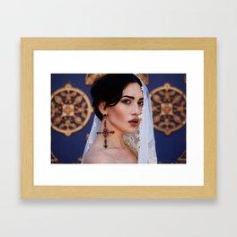 Lukeria Framed Art Print