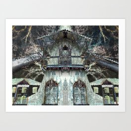 Mansion Art Print