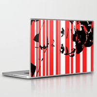 audrey Laptop & iPad Skins featuring Audrey by Heaven7