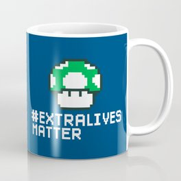 #Extra Lives Matter Coffee Mug