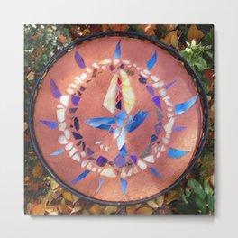 UU Mosaic Metal Print