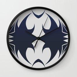 Future Abstract Alien Symbol Techie Wall Clock