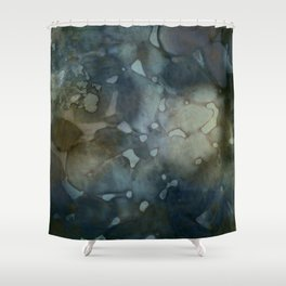 floating colors Shower Curtain