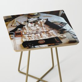 My Life Is Like A Collage Side Table