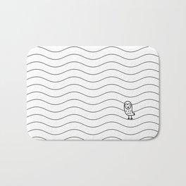 010 OWLY slim dunes Bath Mat