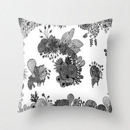 Flora 1 Throw Pillow