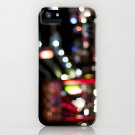 Light Art | Melbourne city (Chinatown) iPhone Case