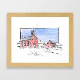 Grafton Ghost Town Framed Art Print