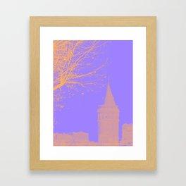 Galata Tower, Istanbul  Framed Art Print