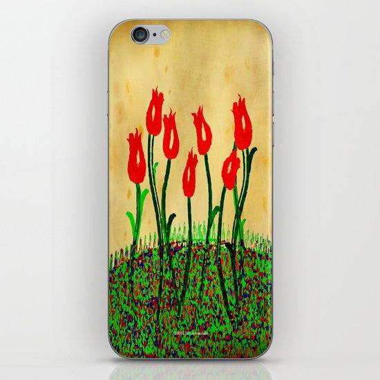 FLOWERS 015 iPhone & iPod Skin