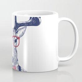 MR DEER WITH GLASSES Coffee Mug