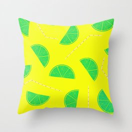 Summer Drinks - Lemonade Throw Pillow