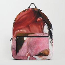 Cam'ron Pink Fur mood Backpack
