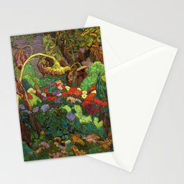 The Tangled Garden by James Edward Hervey MacDonald - Canada, Canadian Oil Painting - Group of Seven Stationery Cards