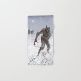 Wounded Wolf Hand & Bath Towel