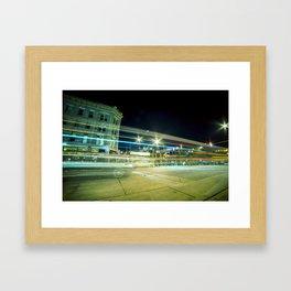 Larimer At Night Framed Art Print