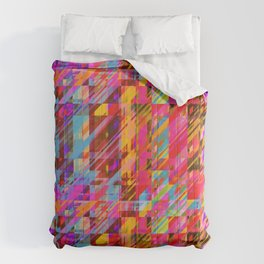 Coloured Noise Art Comforters