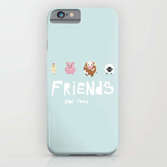 friends not food iPhone & iPod Case