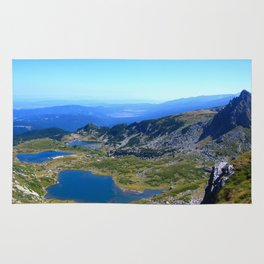 seven rila lakes Rug