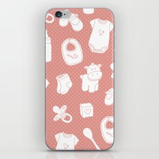Baby red iPhone & iPod Skin