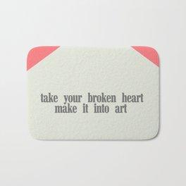 make it into art Bath Mat