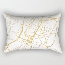 AUSTIN TEXAS CITY STREET MAP ART Rectangular Pillow