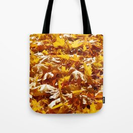 Crunch Underfoot Tote Bag