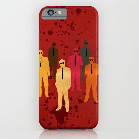 Six Angry Dogs iPhone & iPod Case
