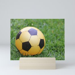 Soccer Ball Mini Art Print