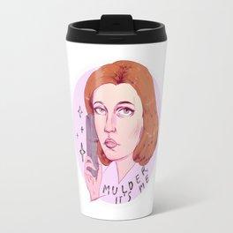 Mulder, it's me Travel Mug
