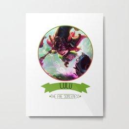 League Of Legends - Lulu Metal Print