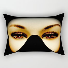 Bedroom Eyes of Doom Rectangular Pillow