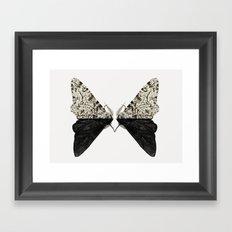 Peppered Moth Framed Art Print
