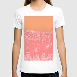 Last to Remain version 3 Sunset T-shirt