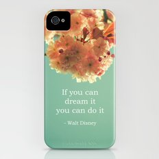 If you can dream it Slim Case iPhone (4, 4s)