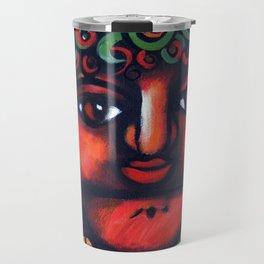Boy con Sandia Travel Mug