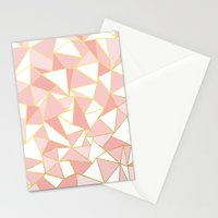 Ab Out Blush Gold 2 Stationery Cards