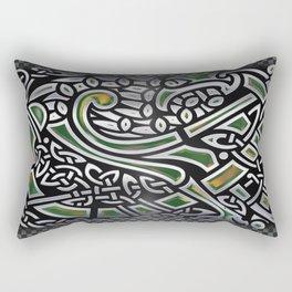 Celtic Birds Knot Work 3D Rectangular Pillow