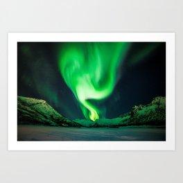 The Northern Lights / Aurora Borealis Art Print